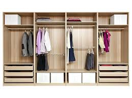 storage wardrobe closet bedroom pull out baskets for kitchen cupboards wood sliding closet ameriwood home systembuild