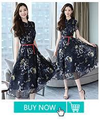 Plus Size 2019 Autumn Winter <b>New</b> Floral Midi Dresses <b>Women</b> ...
