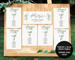 Wedding Table Assignments Template Major Magdalene Project Org
