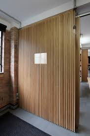 Sliding Wall Dividers Floor To Ceiling Oak Veneer Room Dividers With Partition Sliding