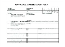 Analysis Report Template Word Unique Defect Analysis Report Template Mctoom