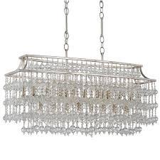 crystal rectangular chandelier with stainless steel varnished hanger frame for luxury living room