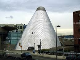 Museum of Glass, MOG, Cone shaped Building, famous landmark