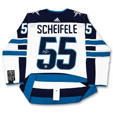 Mvp Scheifele Signature Mark Jersey Authentic – Winnipeg Sports Jets Autographed Adidas