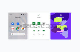 Google Wallpaper Theme This Is Likely The Google Pixel Themes App For Customizing