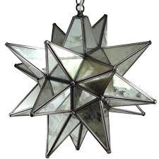 moravian star pendant light