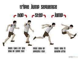 Image result for hop step jump