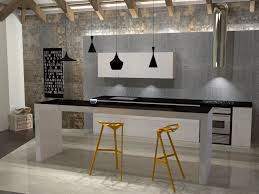 Kitchen Modeling Bijayya Home Interior Design Kitchen 3d Design