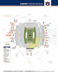 Auburn University Stadium Seating Chart Stadium