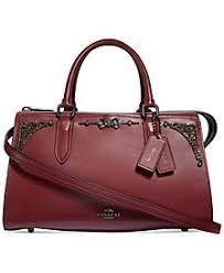 COACH Selena Gomez Crystal Embellished Bond Bag Satchel