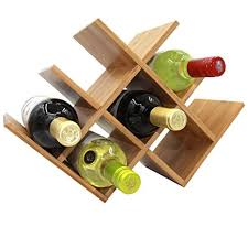 bamboo wine rack. Plain Bamboo Autree Natural Bamboo Wine Rack 8bottles Countertop And I