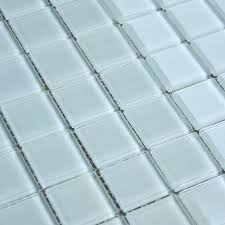 glass mosaic tiles white crystal glass mosaic tile design kitchen bathroom wall floor stickers pink glass