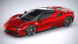 Max | fbx | obj | tex 3d model details: フェラーリsf90 Stradale 2021 In 2021 Ferrari Super Cars Ferrari Car