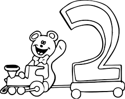 Small Picture Number Coloring Pages Wecoloringpage