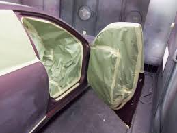 car door jamb. Door Jamb Masked Off And Ready For Paint At Almost Everything Autobody Car
