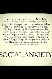 Social Anxiety Quotes Cool Funny Social Anxiety Quotes Managementdynamics