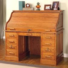 desk small roll top desk for impressive finish elegant deluxe roll top desk in