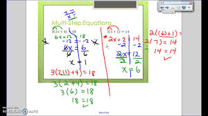 equations and the distributive property notes