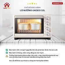 Lò nướng Ukoeo 32l hàng có sẵn, lò nướng gia đình, nướng bánh, nướng gà -  Hàng chính hãng - Bảo hành 12 tháng - Lò nướng điện