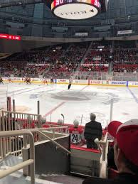 Bojangles Coliseum Section 123 Home Of Charlotte Checkers
