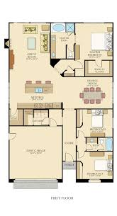 ideas about One Level House Plans on Pinterest   House plans    One level floor plan from  lennarinlandla featuring bedrooms  bathrooms  a