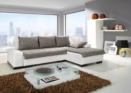 Living Room:Modern Grey Corner Sofa Design Ideas For Small Living Room With  White Wall