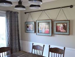 This Family Came Up With A Unique Way To Hang Their Photo Display Frames  And Itu0027s Going Viral! | Family Photo Displays, Iron Pipe And Repurposing