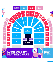 Kcon Seating Chart 2018