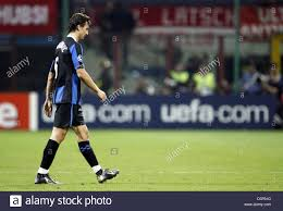 Inter Milan's Zlatan Ibrahimovic after receiving the red card during Stock  Photo - Alamy