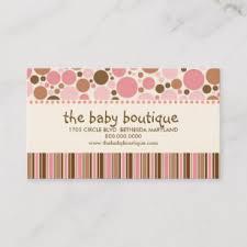 Baby Boutique Business Cards Zazzle Uk