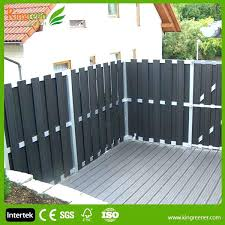 white fence post. Composite Fence Posts Wood Plastic Deck Privacy Screen With Decking And Post Caps White Uk Comp