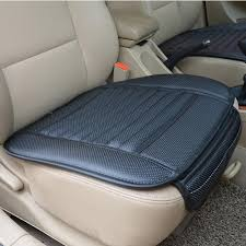 emazon pu leather bamboo charcoal breathable seat cushion cover pad mat image