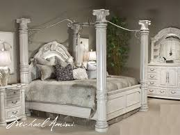Modern Exquisite King Size Poster Bedroom Sets King Size Canopy ...