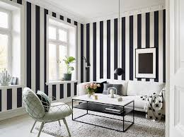 Wallpapering For A Living Room 10 Striped Wallpaper Design Ideas Bright Bazaar By Will Taylor
