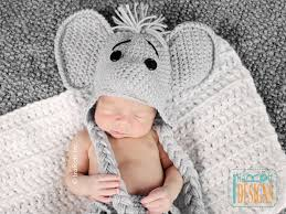 Elephant Rug Crochet Pattern Adorable Josefina And Jeffery Elephant Rug PDF Crochet Pattern IraRott Inc