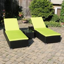 lime green patio furniture. St Kitts Chaise Set With Black Wicker And Bright Lime Green Cushions Patio Furniture E