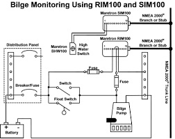 how do i monitor the bilge maretron equipment figure 4