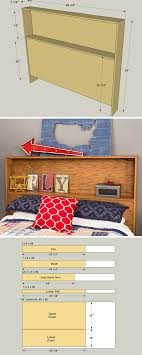 headboard storage rack. How To Build DIY Storage Headboard Free Printable Project Plans On Buildsomethingcom This Offers Shelf Behind Your Head Rack