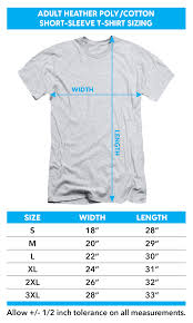 American Shirt Size Chart American Horror Story Heather T Shirt Rubber Man