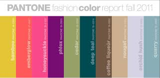 Fashion Colour Chart Gadget Tips 2012 Pantone Fall Fashion Color Chart 2011