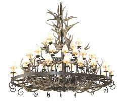 chandeliers rustic wrought iron chandelier chandeliers images modest pertaining to antler light reclaimed intended for inspirations