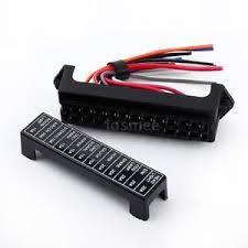v way circuit car automotive blade fuse box block holder atc image is loading 32v 12 way circuit car automotive blade fuse