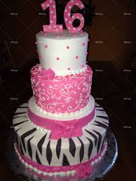 Foapcom Sweet 16 Birthday Cake Stock Photo By Samanthabrown94651