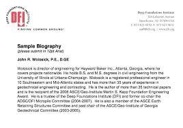 Professional Biography Writing Site For University Short Bio