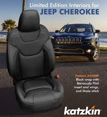 2016 2017 jeep cherokee latitude limited edition licorice black leather seat interior