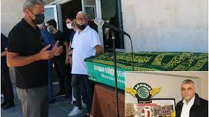 Akhisarspor'un efsane başkanı Hüseyin Eryüksel son yolculuğuna uğurlandı