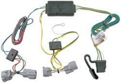 trailer wiring harness for a toyota tacoma access cab t one vehicle wiring harness 4 pole flat trailer connector
