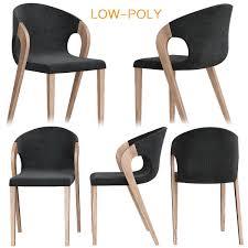 Barschrank Voglauer Chair Low Poly 3d Model 3d Model