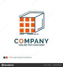 Matrix Logo Design Abstract Aggregation Cube Dimensional Matrix Logo Design