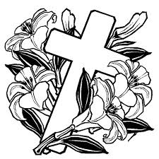 Small Picture cross coloring pages